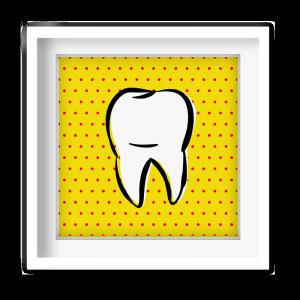 Quadro de dente.