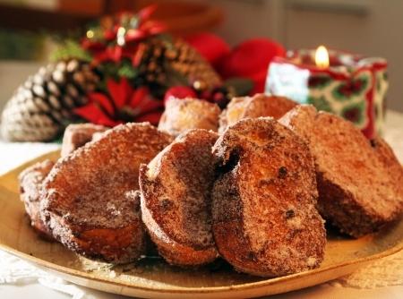 Rabanada, a sobremesa mais tradicional do Natal.