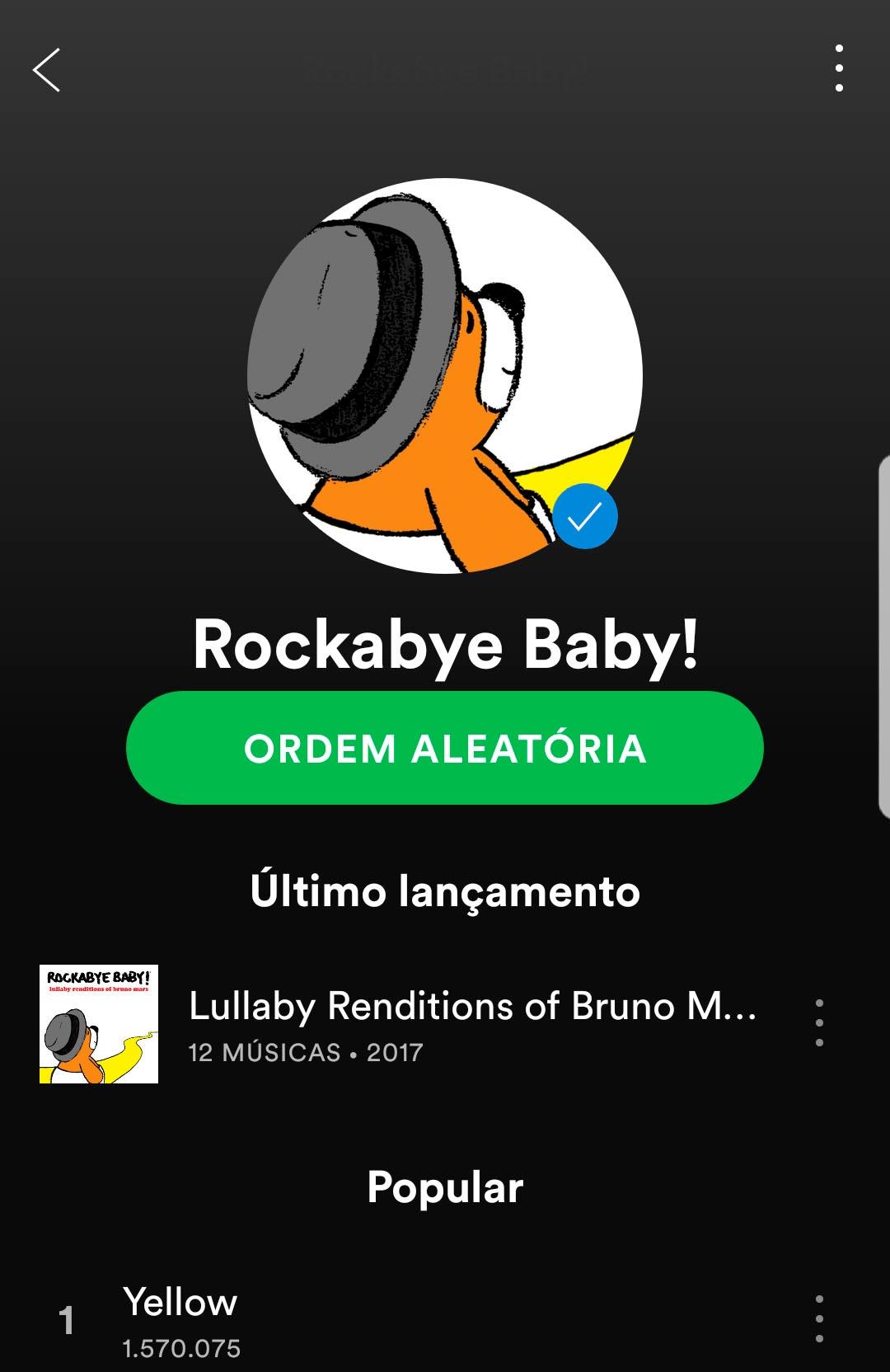 Playlist Rockabye Baby!