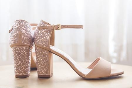 Sapato de Salto Grosso