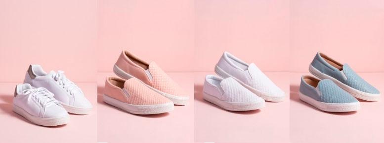 Linha de sapatos Dra. Cherie