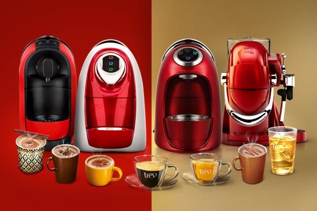 Uma máquina de expresso é um ótimo presente para as mães que amam café.