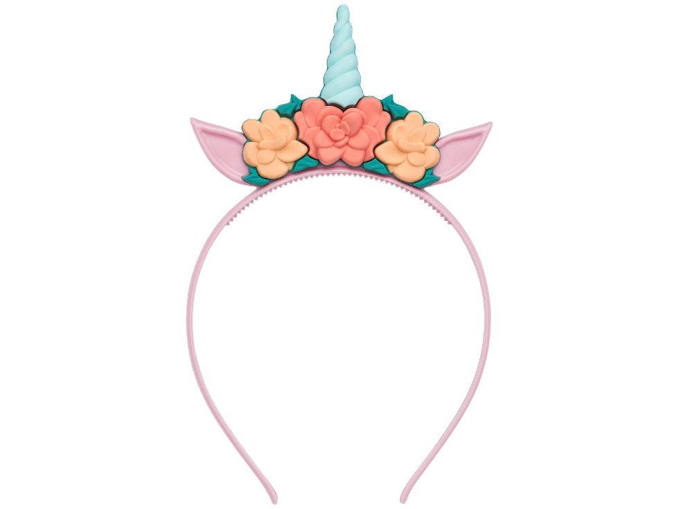 Tiara de unicórnio é tendência para o carnaval.