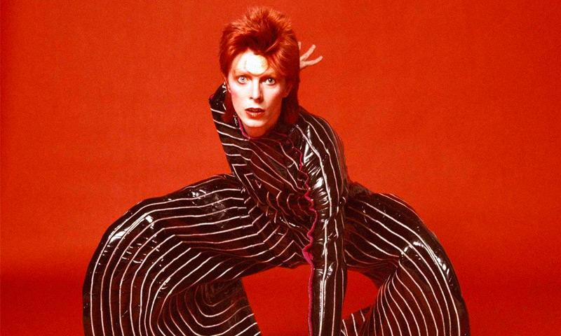 David Bowie foi um ícone da moda.